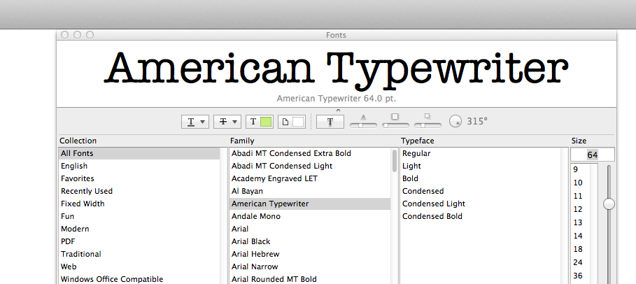 2 Mac Tips for fonts and colors