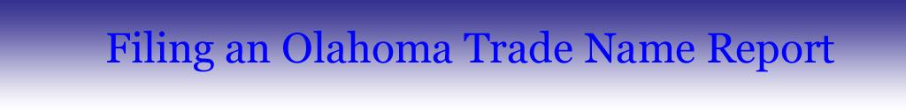 Trade-Name-Report