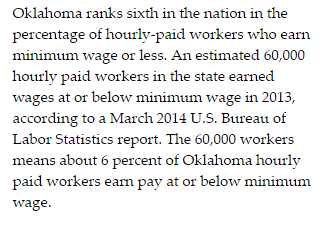 Oklahoma Minimum Wage